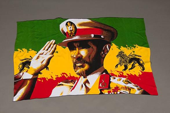 Haile Selassie in Uniform